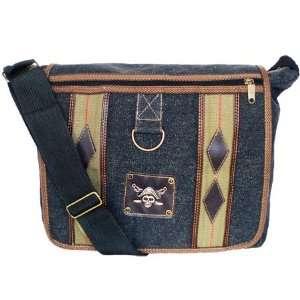 Military Inspired Canvas Messenger Bag Backpack Bookbag
