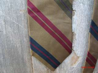 OSCC Bespoke Gold with Red Dark Blue and Red Stripes