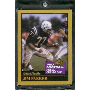 1991 ENOR Jim Parker Football Hall of Fame Card #115