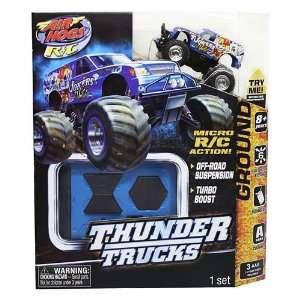 Air Hogs R/C Micro R/C Thunder Trucks [Jokers Wild] Toys & Games