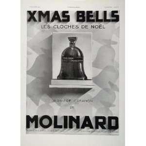1930 Ad Les Cloches de Noel Christmas Bells Molinard