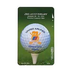 Collectible Phone Card: 29th United Airlines Hawaiian Open