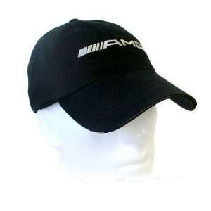 Mercedes Benz AMG Black Baseball Cap, Genuine MB Product