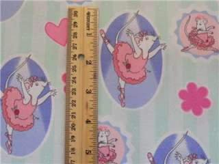 New Angelina Ballerina Mouse Ballet Cartoon Girls Flowers Hearts