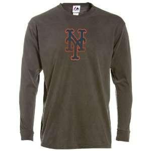 New York Mets Big Time Play Garment Dye Long Sleeve T