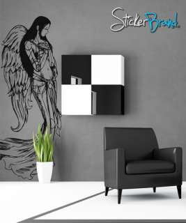 Vinyl Wall Decal Sticker Beautiful Angel Wings #774s
