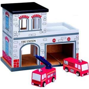 Maxim Fire Station Set   Building and Vehicles Toys