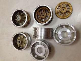 Used 1/10 Vintage Kyosho Aluminum Alloy wheels