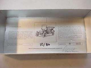 CORGI 1915 FORD MODEL T CAR~BLUE DIECAST w BOX 1985