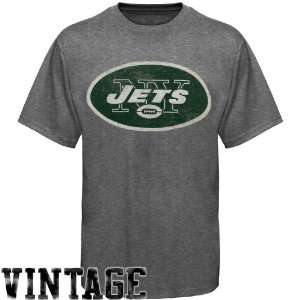 NFL Junk Food New York Jets Vintage Crew Premium T Shirt