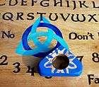 Ouija Board Blue Triquetra Spirit Game Haunted Paranormal Pagan Game