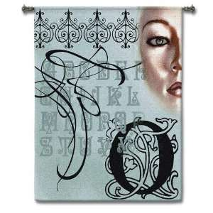 Omega Woman Wall Hanging   42 x 53 Home & Kitchen
