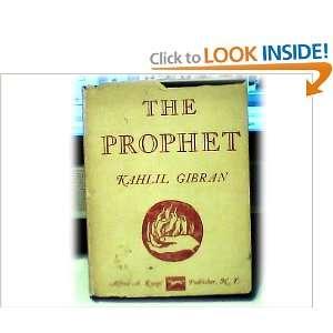 The Prophet (Pocket Edition): Kahlil Gibran: Books