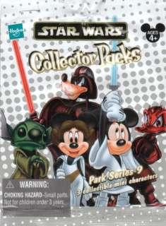 STAR WARS Mickey 3 Random figurine set Collector Pack Series #9 SEALED