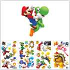 Giant Set 35 Super Mario Bros. Wii Wall Decals Luigi Peel & Stick