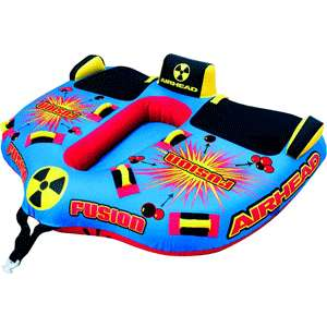 Airhead Fusion Towable Water Tube 2 Riders NEW
