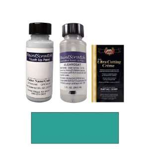 1 Oz. Medium Teal Blue Metallic Paint Bottle Kit for 1996