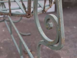 French Wrought Iron Basket / Planter   Large   Garden