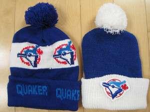 vintage TORONTO BLUE JAYS SKI HAT hats POM POM winter cap TOQUE lot