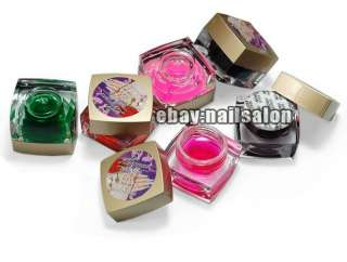 30PCS glitter Gel Nail Art Professional Translucent UV GEL color gel