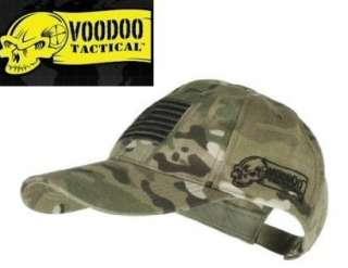 VooDoo Tactical BASEBALL BALL CAP HAT+USA FLAG MULTICAM