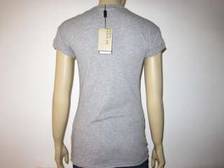 BURBERRY LADIES WOMANS TOP / T SHIRTS GREY Size S/M/L Rp£125.00