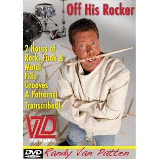 Drum Lessons Randy Van Patten Off His Rocker Over 40 Rock, Funk