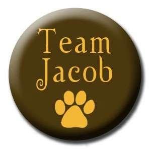TEAM JACOB BLACK Pinback Button 1.25 Pin / Badge Twilight