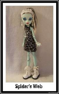 Clothes Dress + Jewelry 4 MONSTER HIGH DOLL Custom Fashion d4e