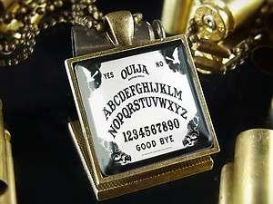 Ouija Board Halloween Antique Bronze Necklace SB 266