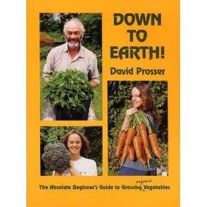 Beginners Guide to Growing Organic Vegetables (9780908704217): David
