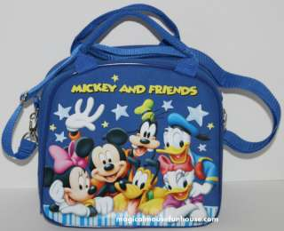 Disney Mickey Mouse and Friends Shoulder Lunch Box Bag