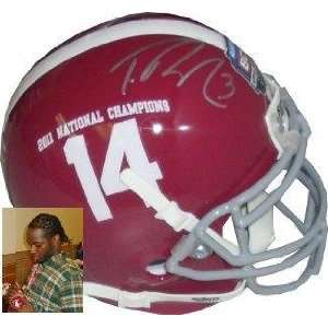 Trent Richardson signed Alabama Crimson Tide Authentic