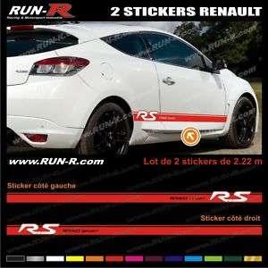 Sticker Renault Sport   Twingo Clio Megane   RE35R
