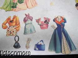 VINTAGE PAPER DOLL DRESS UP PLAY SET ESTHER WILLIAMS SWIMMER HOLLYWOOD