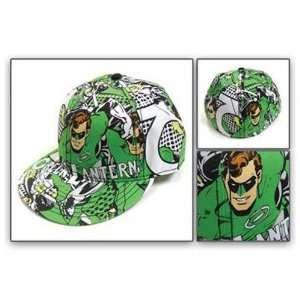 DC Comics Green Lantern Hal Jordan Print Flat Bill Cap