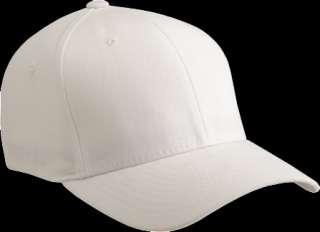 Tactel Fitted Baseball Blank Plain Hat Ball Cap Flex Fit