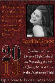 50 Custom Graduation Announcement Invitations 16Choices