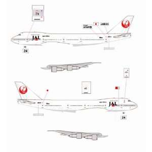 Jet X JAL B747 246SR JA8134 Model Airplane Everything