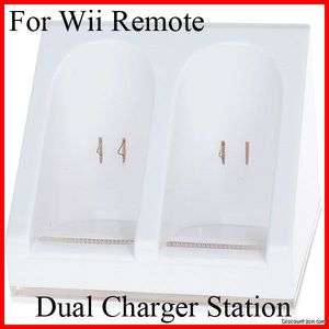Station for Nintendo Wii Remote Control/Controller Battery Pack