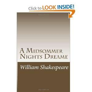 A Midsommer Nights Dreame (9781467996990) William