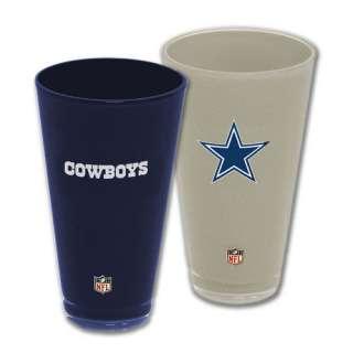 Cowboys 20 oz Acrylic Tumbler 2 pack Home & Away Set