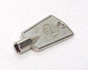 New National Freezer Key Blank Cross Locksmith D8590