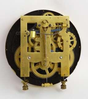 Beautiful Antique, German Junghans wall clock at 1900 Great crown   R