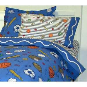 Crayola Sports Twin Sheet Set Kids & Teen Rooms
