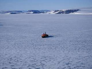 in Sea Ice, Russia Photographic Print by Allan White at AllPosters