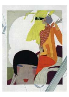 Art Deco Ladies Talking Art at AllPosters