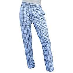 Penguin Mens Yosiko Ballard Blue Poplin Pants