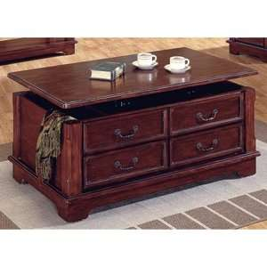 Steve Silver Barrington Lift Top Coffee Table with Casters Furniture