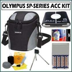 Olympus Ultra Zoom Nylon Digital Camera Case Accessory Kit